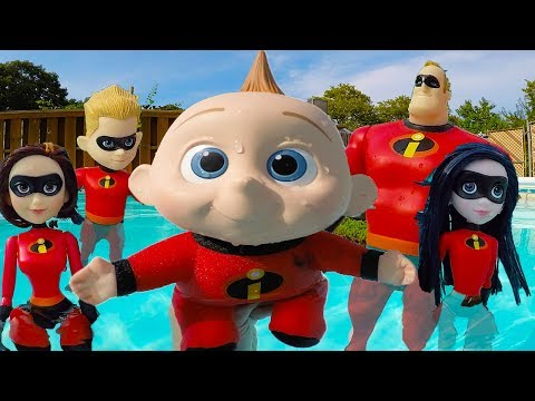 Incredibles Family Back to School Supplies for Baby Jack Jack at Toy Hotel   Episode 4