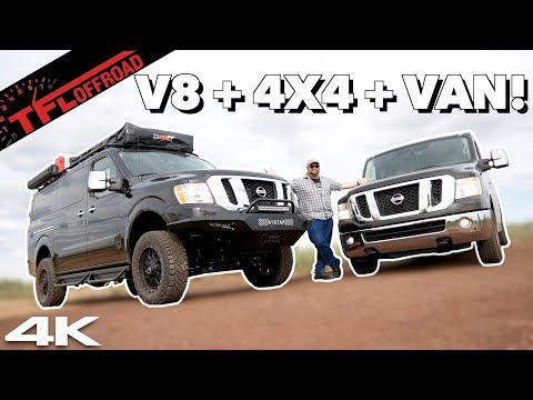 Nissan NV 4x4: A Massive Overland Van with a V8 and a Factory