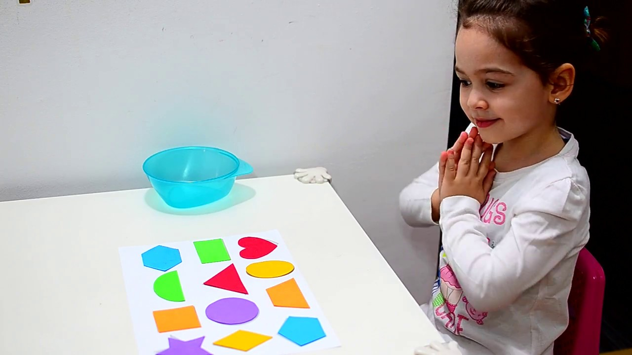 Learn Shapes And Colors Montessori Activities Toddlers Kids Play Teaching Methods Fun Education
