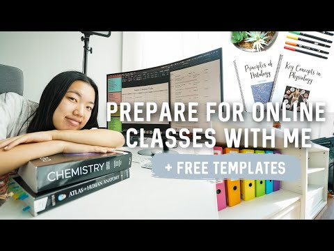 How to prepare for school/online classes!