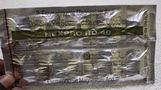 Nexpro RD 40 Capsule Review | Esomeprazole/Domperidone / Uses Benefits