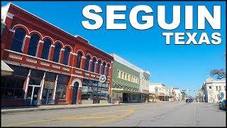 Seguin TEXAS Downtown Tour