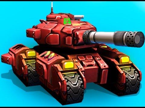 Танчики 3D. Лучшая игра про Танчики для Детей. Block Tank Wars 2. Игры на Андроид Осень 2016