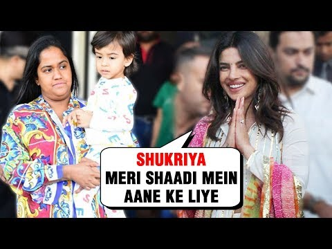 Salman Khan Sister Arpita Khan Reaches Jodhpur For Priyanka Nick Wedding