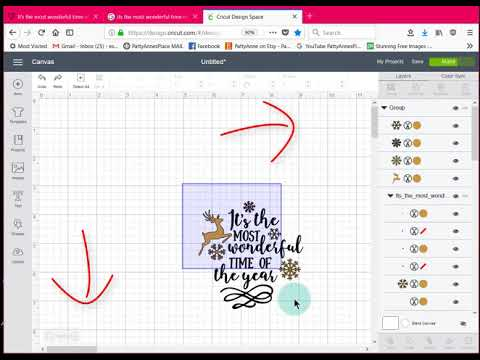 Cricut Design Space - Using FREE SVG File