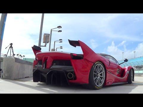 Ferrari FXX K VS Ferrari 599XX Supercars...
