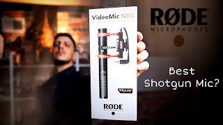 RODE VideoMic NTG | The Best Shotgun Mic? YUP