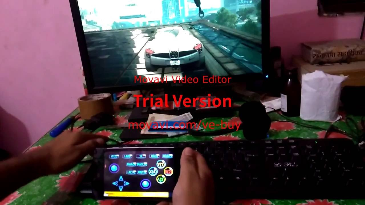 How to Use Android device as Xbox 360 Controller on Pc Monect - YouTube