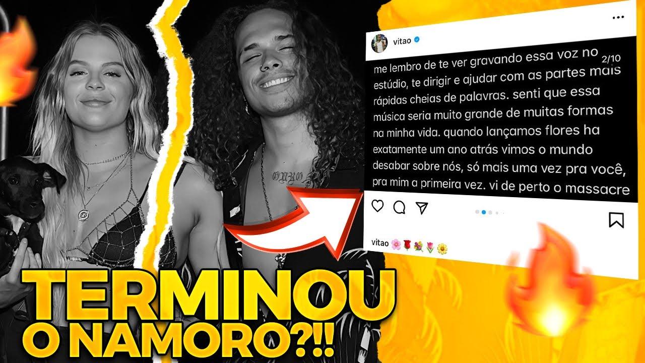 😱CARTA ABERTA DE VITÃO PARA LUISA SONZA!!