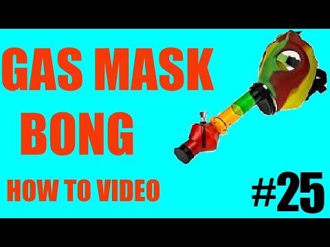 How To Make A Homemade Gas Mask Bong!!! (EASY)