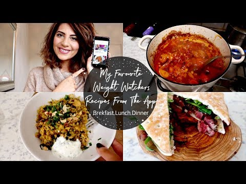 Favourite Recipes On The Weight Watchers App 2019 | Natasha Summar