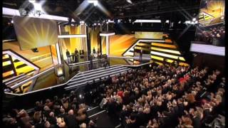 """Joe Cocker sings LIVE """"I Come In Peace"""" and """"Up Where We Belong"""" in German TV, February 2, 2013"""