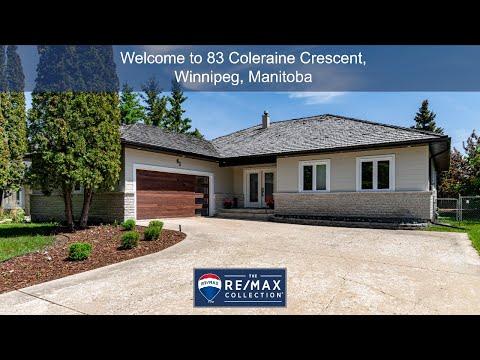 Winnipeg House For Sale - 83 Coleraine Crescent, Winnipeg, Manitoba