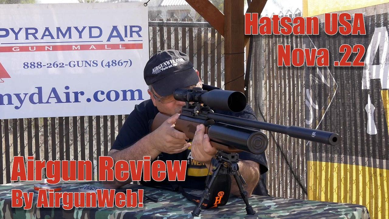 Hatsan Nova Review - Massive Shot Count, Power and Accuracy! - By AirgunWeb