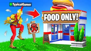 I Went UNDERCOVER in a FOOD Tournament! (Fortnite)