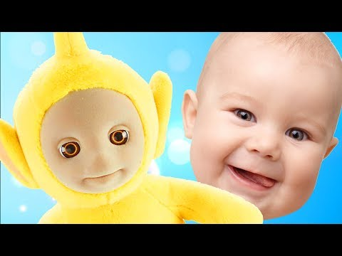 Learn Colors with Teletubbies Toys For Children, Toddlers and Babies / Finger Family Song