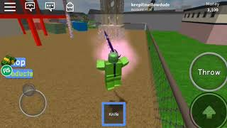 Knife simulator first roblox adventure