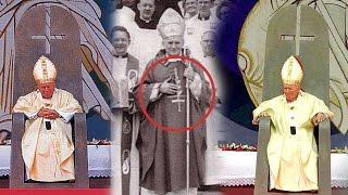 La conexión de Juan Pablo II, la cruz invertida y el Anticristo