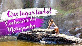 Que lugar lindo! Cachoeira da Mariquinha