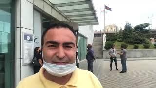 Əmanətçilər ADİF-in qarşısıda etiraz edir. 12.08.2020, CANLI