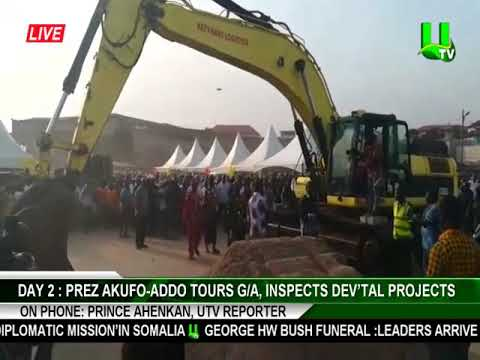 DAY 2: Akufo-Addo tours Greater Accra