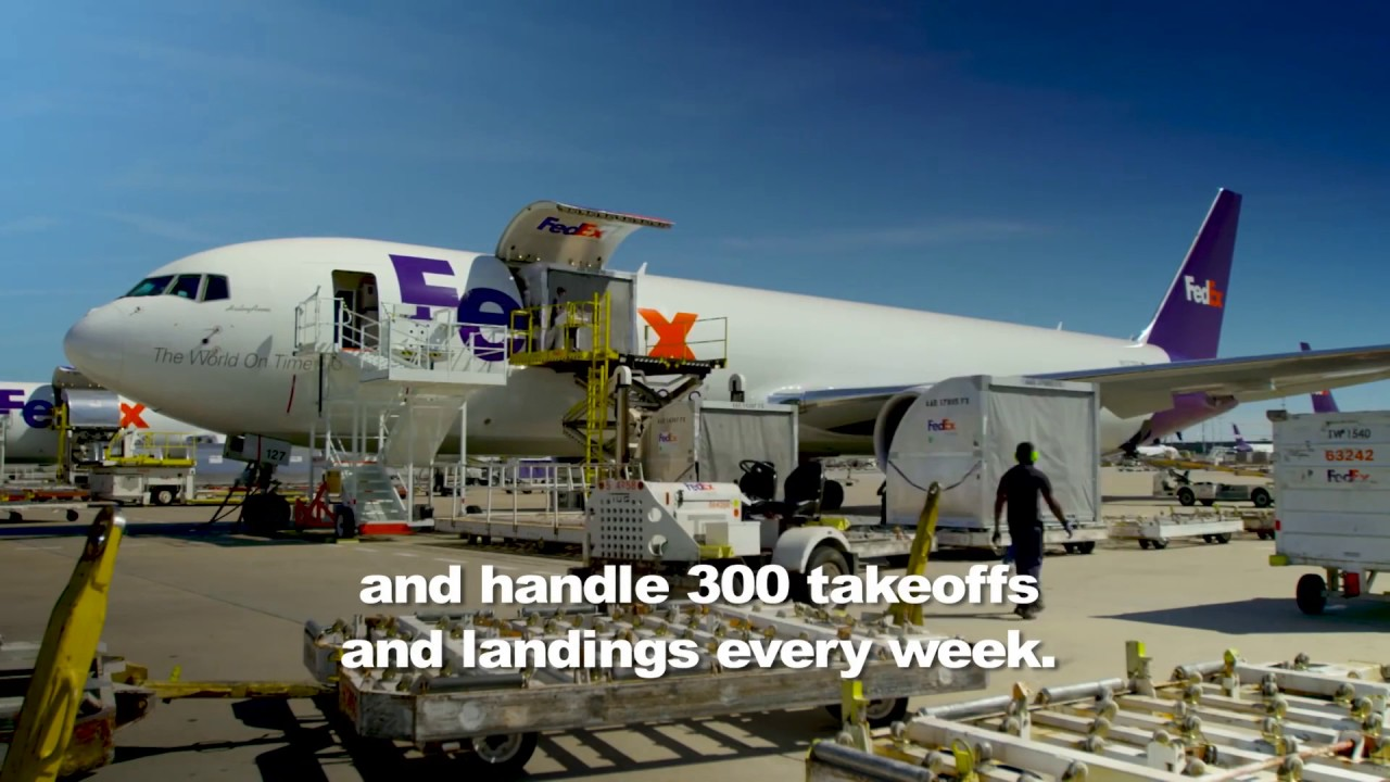 fedex express expands paris charles de gaulle distribution hub youtube. Black Bedroom Furniture Sets. Home Design Ideas