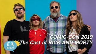 The future's so bright for 'Rick and Morty,' they've gotta wear shades at Comic-Con
