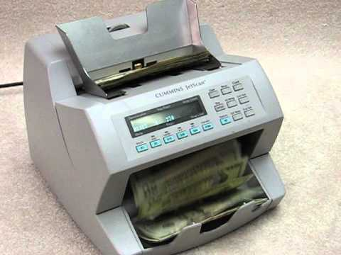 cummins jetscan 4062 cash counter for sale on ebay youtube rh youtube com