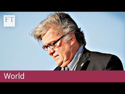 Bannon says US and China in economic war