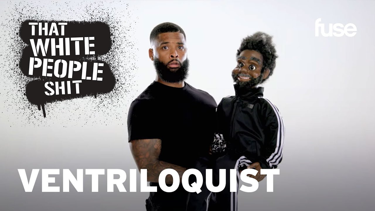 King Keraun Attempts to Become A Ventriloquist | That White People Sh*t | Fuse