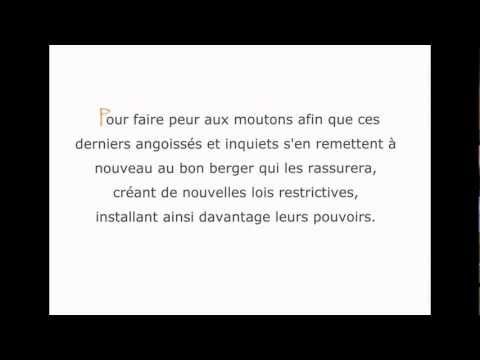 Révélation/ Lettre aux Citoyens