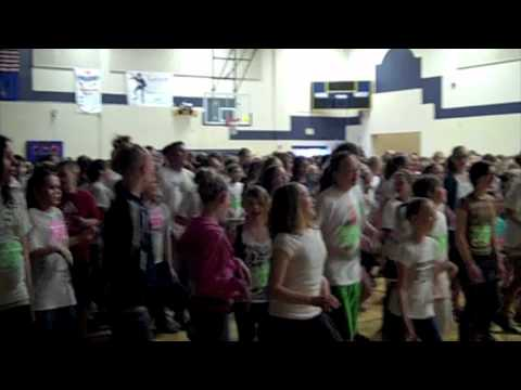 Ben Franklin Middle School Let's Move - YouTube