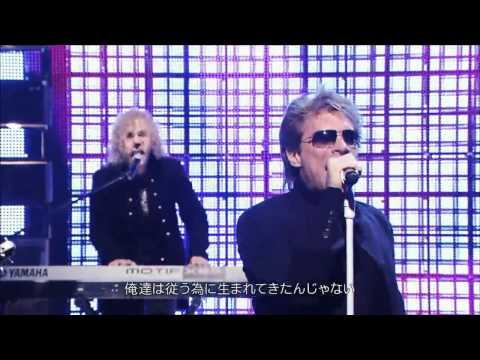 Kimura Takuya [木村拓哉] & Bon Jovi MEDLEY Nov 09 Japan