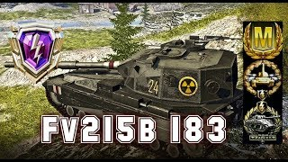 Rating Battle #8 Fv215b 183 world of tank blitz Aced gameplay 7000 DMG
