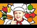 английский язык для детей овощи и фрукты