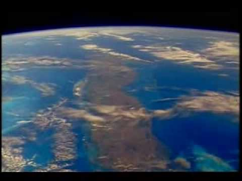 Breathtaking Space Shuttle Earth View of Mexico,Bahamas and Atlantic Ocean (No Music)