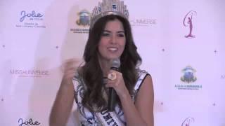 """""""Contaba los días para llegar a mi Barranquilla"""": Miss Universo"""