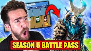 BUYING ALL SEASON 5 SKINS in Fortnite Battle Royale Battle Pass!