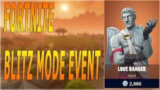 NEW Game Mode Fortnite Battle Royale Blitz