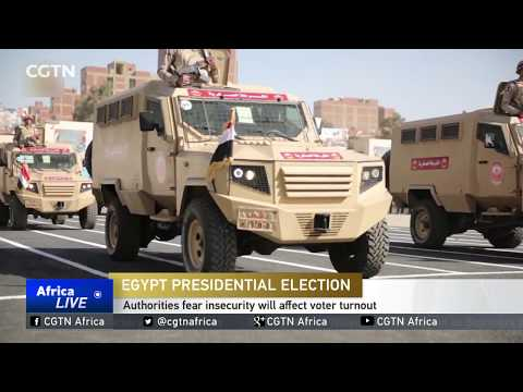 Egypt's authorities fear insecurity will affect voter turnout