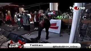 Bondan Prakoso & Fade2Black at RadioShow tvOne