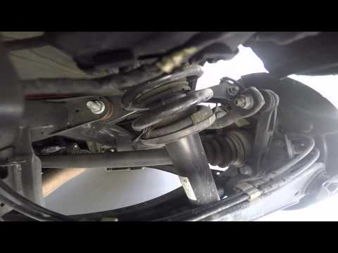 bmw   rear suspension clunking full noise yt