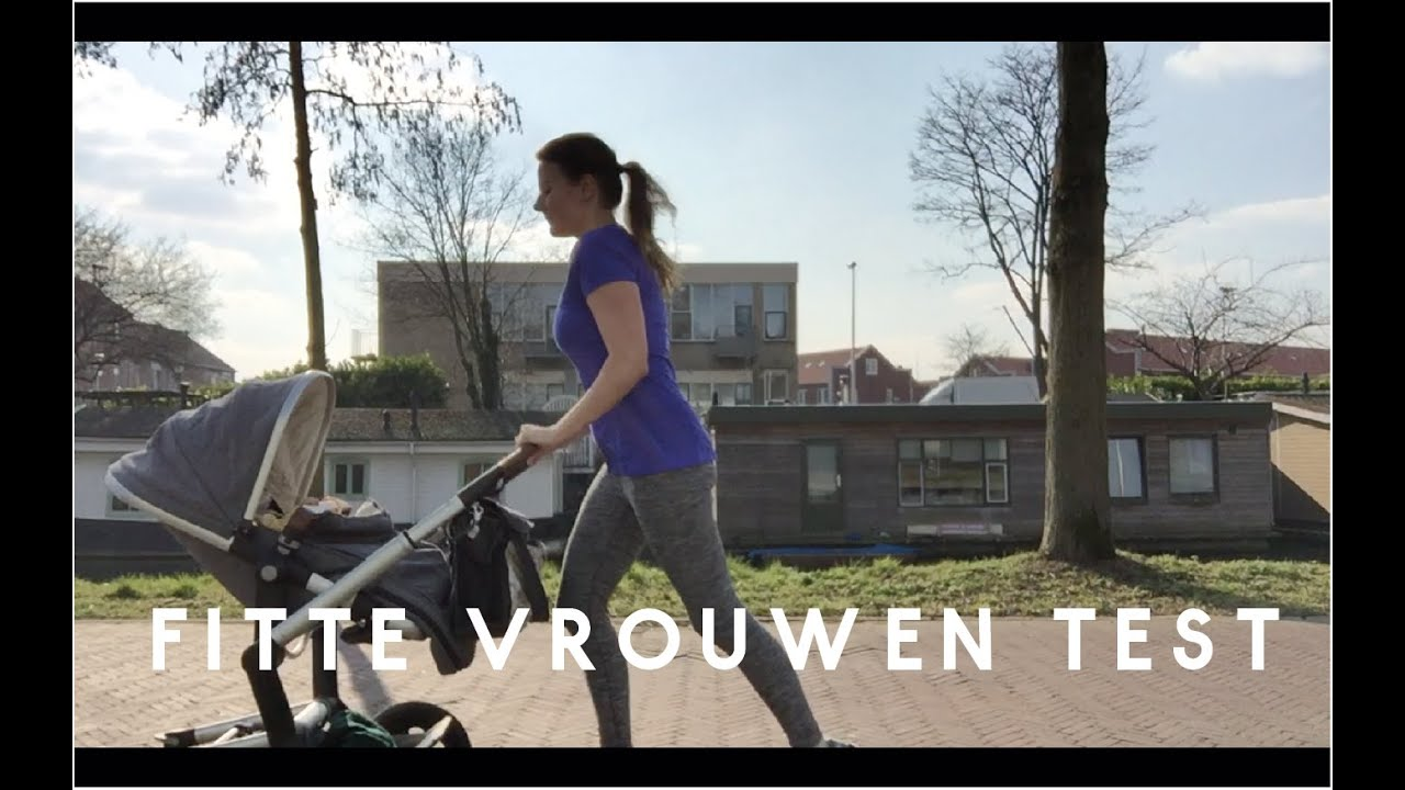 fitte vrouwen test hardlopen achter de kinderwagen youtube. Black Bedroom Furniture Sets. Home Design Ideas