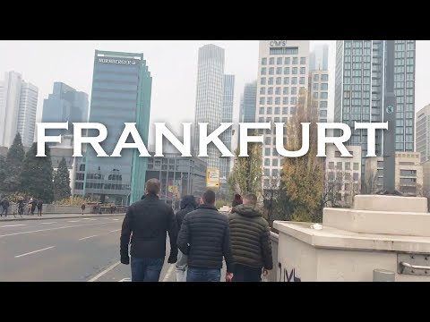 Lads Weekend in Frankfurt, Germany.