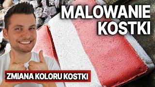 Malowanie kostki brukowej Kraków   Jaka farba do malowania kostki ? DOMINIKMALUJE #10