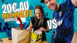 Qui fera la meilleure commande Mcdonald's avec 20€ ? (avec Pidi)
