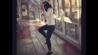 Классная Девушка танцует Шаффл ( Shuffle dance )