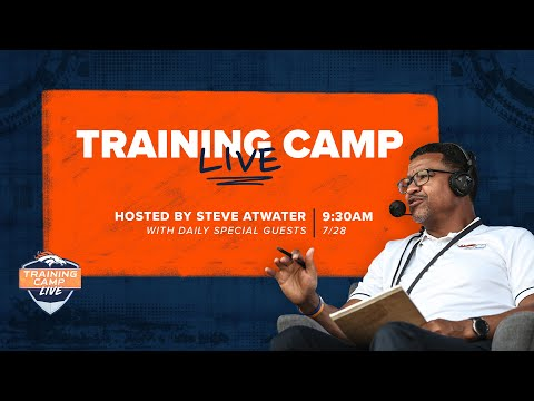 Get a live look at Day 1 of Broncos Camp with Steve Atwater