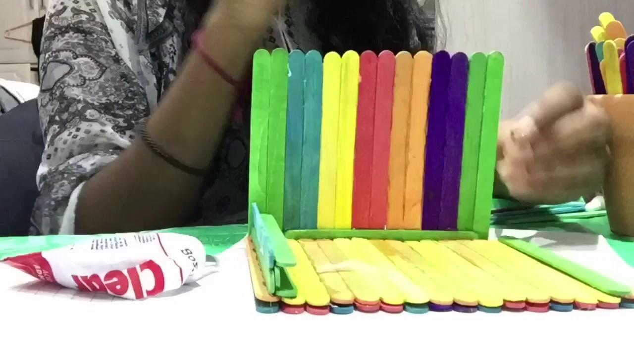 CD Holder DIY - YouTube