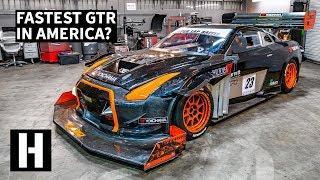 1200 Horsepower Nissan GTR: Time Attack + Hillclimb Monster